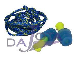 Protetor auricular (plug / inserção) Sperian Fusion 27dB com cordão removível pacote com 10