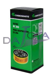 FILTRO CARBOGRAFITE RC-203 PARA RESPIRADOR CG-306
