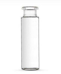 Vial, Vidro Transparente , 20ml (22x75mm), fundo plano, tipo Crimp sem tampa  100/Pk.