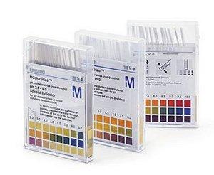 Papel pH 0 - 14 cx com 100 tiras - Nao Sangra