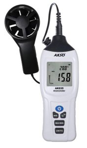 Termoanemômetro Digital com Sensor Externo