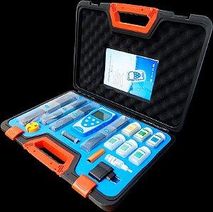 Medidor Multiparâmetro (pH/Cond/OD/TDS/Temp) Portátil