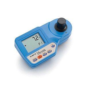 Fotômetro para Cloro Total, Livre & pH ISM