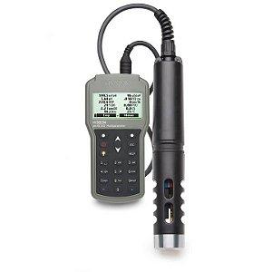 Medidor multiparâmetro portátil para pH/EC/OD