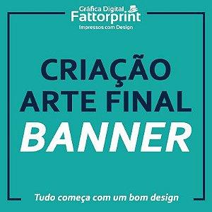 Criação de Arte Final para Banner