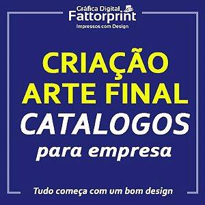 Criação e Arte Final para Catalogos