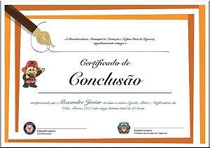 Certificados com Dados variáveis