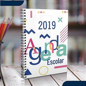 DUPLICADO - Agenda Personalizada 2019 com Fotos e Temas e profissões