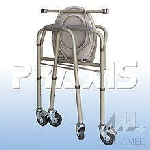 Cadeira de Rodas para Higienização Praxis Modelo: A-CMF302-W