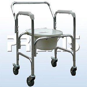 Cadeira de Rodas para Higienização Praxis Modelo: A-CMF202-W