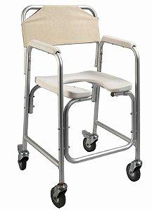 Cadeira Higiênica Lux Alumínio  -  Mobil Saude