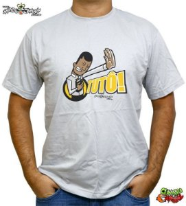 Camiseta Pastor Metralhadora Tutô Cinza