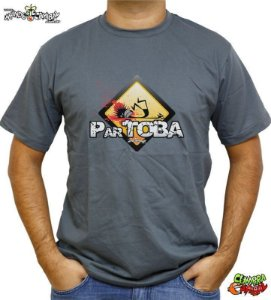 Camiseta ParTOBA - Chumbo