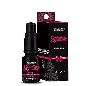Lubrificante Íntimo Segredinho Morango Feitiços Aromáticos - Erotika Store