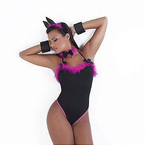 Fantasia Coelhinha  Sexy - Erotika Store