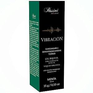 Gel Beijável Vibración Menta - Erótika Store