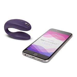 Vibrador para Casal com Controle Remoto sem Fio We - Vibe Purple  Controlado por App Celular - Erótika Store