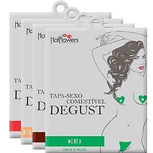 Tapa-Sexo Solúvel Formato de Flor Hot Flowers - Erótika Store