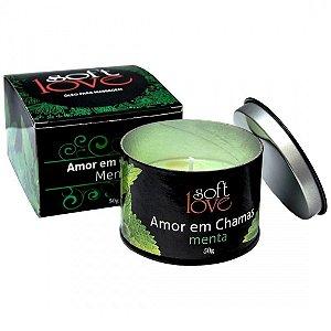 Vela Beijável Hot Linha Amor em Chamas 50g Soft Love - Erótika Store