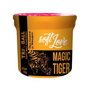 Magic Tiger Triball Soft Ball Funcional 3un Soft Love - Erótika Store