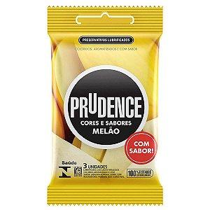 Preservativo em Látex Cores e Sabores Melão Prudence - Erótika Store