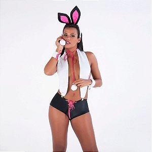 Kit Coelha Playboy Amareto - Erótika Store