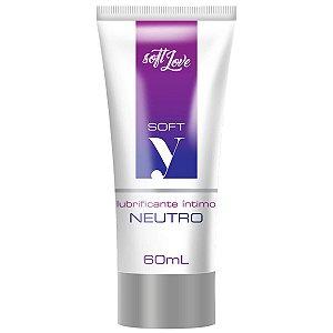 Soft Y Gel Lubrificante Íntimo Neutro Soft Love - Erótika Store