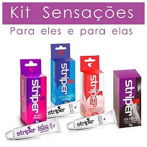 Kit Sensações Para Eles E Para Elas - Intt - Erótika Store