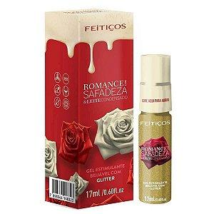 Romance com Safadeza e Leite Condensado Gel Estimulante Beijável Feitiços Aromáticos - Erótika Store