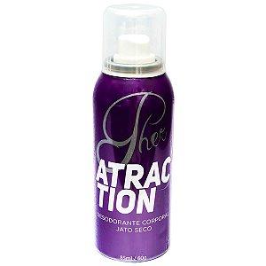 Pher Atraction Desodorante Spray Jato Seco com Feromônio Soft Love - Erótika Store
