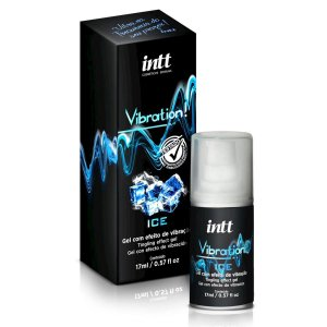 Vibration Gel Excitante que Vibra Power Extra Forte Sabor Ice - Intt - Erótika Store