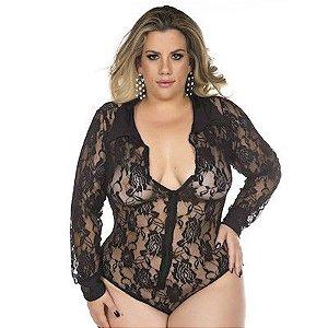 Body Excecutiva Plus Size Pimenta Sexy - Erótika Store