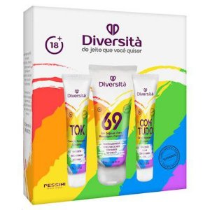 Kit Sensual Super Excitante Diversitá Pessini - Erótika Store