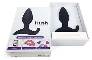 Hush Plug Smartphone Wireless Bluetooth Lovense - Erótika Store