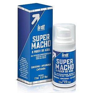 Potencializador Masculino Poder Do Azul Gel Super Gel Macho - Erótika Store
