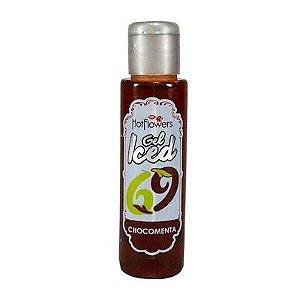 Gel Aromatizado Iced Chocomenta Hot Flowers - Erótika Store