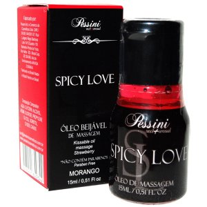 Spicy Love Morango  Pessini - Erótika Store