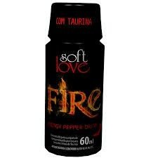 Energético Fire Pepper Drink Soft Love - Erótika Store