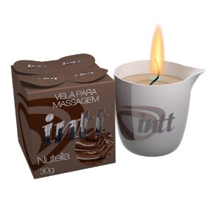 Vela para Massagem Beijável Nutella 30g Intt-Erotika Store