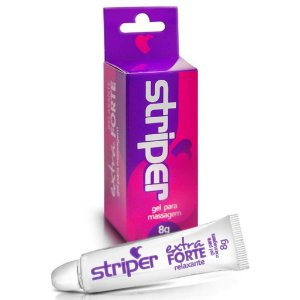 Gel para Massagem Relaxante Extra Forte Striper  Intt - Erótika Store