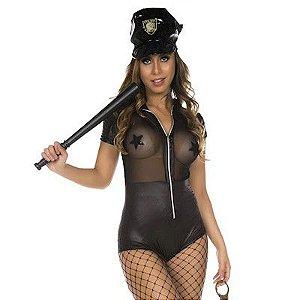 Fantasia Policial Macaquinho - Erótika Store