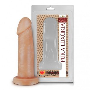 Prótese Realística Pura Luxúria Pele 14x4,2 Sexy Fantasy-Erotika Store