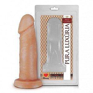 Prótese Realística Pura Luxúria Pele 15x3,8 Sexy Fantasy-Erotika Store