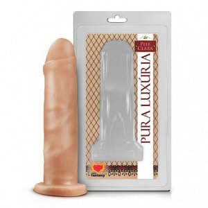Prótese Realística Pura Luxúria Pele 16,5x4,1 Sexy Fantasy-Erotiks Store