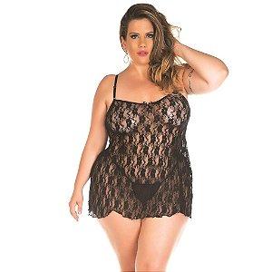 Camisola Gigi Plus Size Pimenta Sexy-Erotika Store