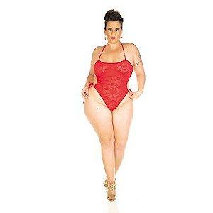 Body Renda Plus Size Pimenta Sexy - Erótika Store