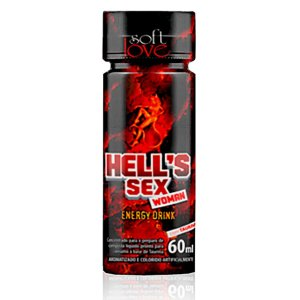 Hell's Sex Energy Drink for Woman Soft Love - Erótika Store