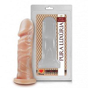 Prótese Realística Pura Luxúria Pele 14,3x4 Sexy Fantasy-Erotika Store