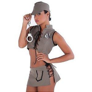 Kit Fantasia Policial Amareto- Erotika Store