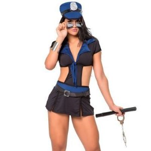 Kit Fantasia Policial Kate Sapeka - Erótika Store